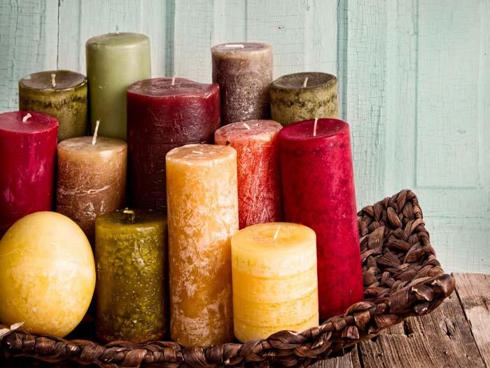 Изготовление декоративных и ароматических свечей в домашних условиях