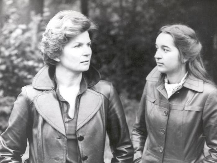 Валентина Терешкова с дочерью Еленой