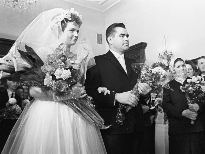 Свадьба Терешковой Валентины с Андрианом Николаевым