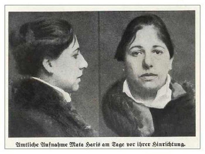 Мата Хари в тюрьме