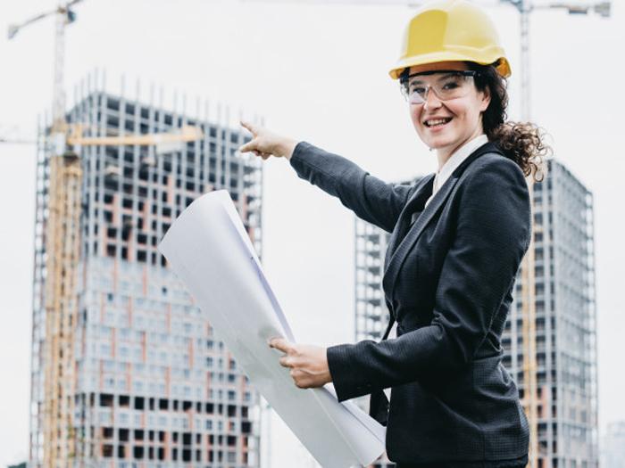 Профессия для женщины - архитектор