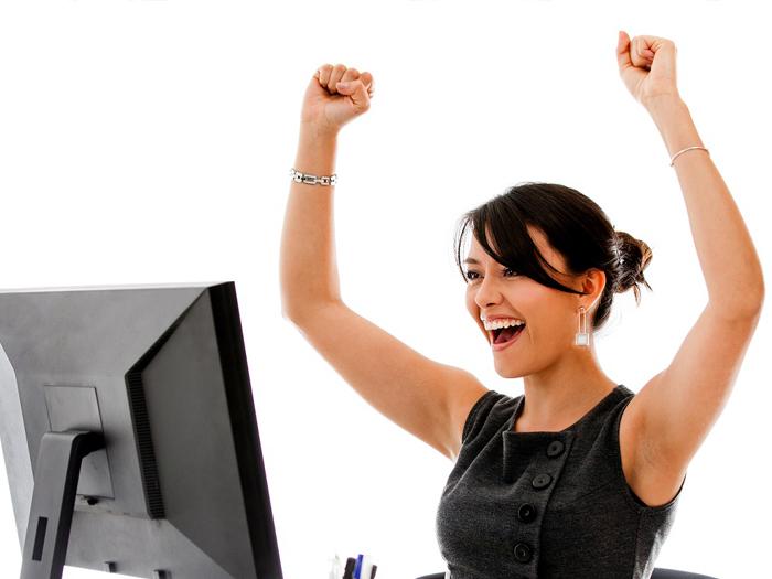 Женщине успех обеспечен