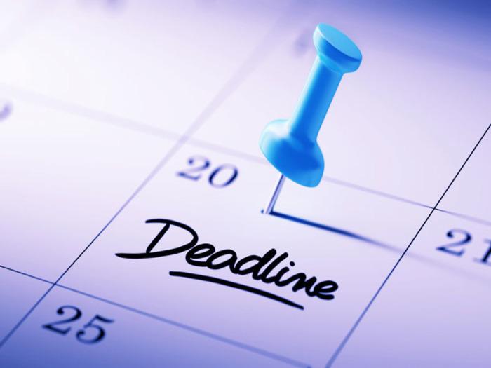 Не откладывайте работу на более поздние сроки