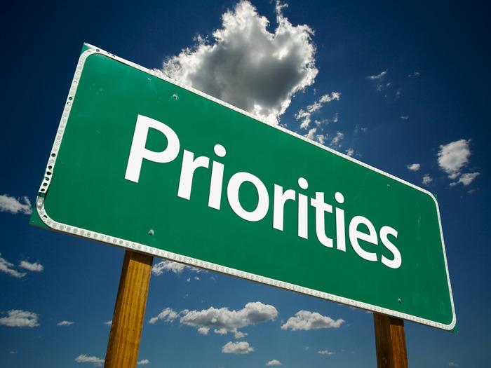 Есть множество способов для расстановки приоритетов, однако каждый человек должен подбирать индивидуальные способы организации своей жизни