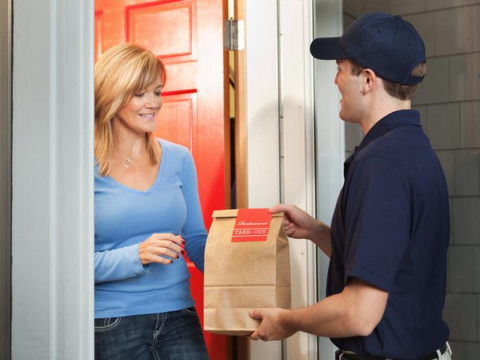 Определитесь с категориями людей, которые чаще всего заказывают еду с доставкой