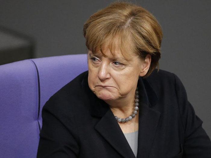 Меркель в политике
