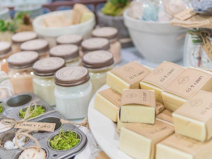 Лучшим вариантом для бизнеса, связанного с производством домашнего мыла, станет совмещённый способ торговли