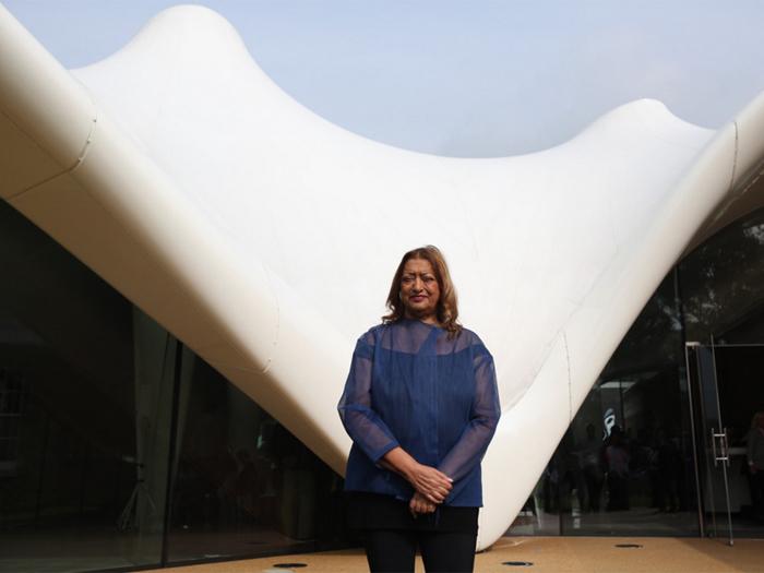 Заха Хадид - женщина архитектор