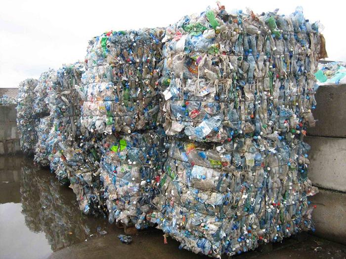 Пресованный мусор