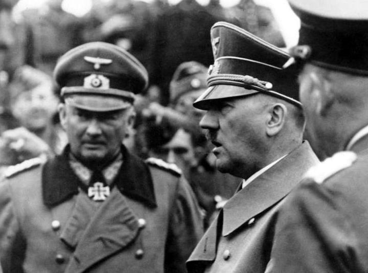 Ганс Гюнтер фон Динклаге и Гитлер