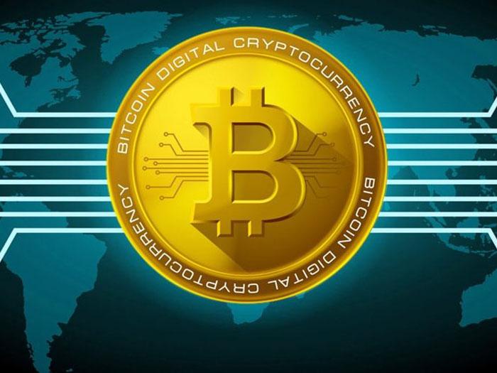 Логотип биткоина